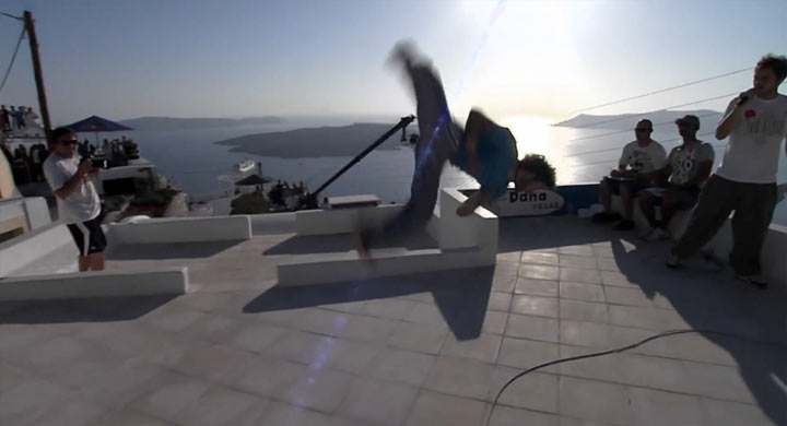 Parkour-Contest: Art of Motion 2012 Art_of_Motion_2012_Santorini