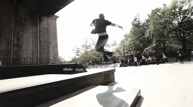 Inline-Skating: CJ Wellsmore durch NYC