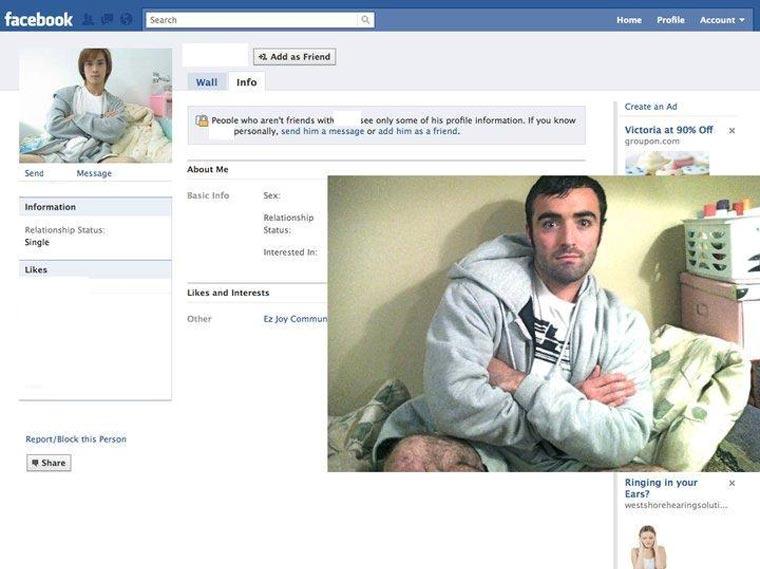 Typ stellt Facebook-Profilbilder Gleichnamiger nach und stellt ihnen Freundschaftsanfragen CasinoRoy_03