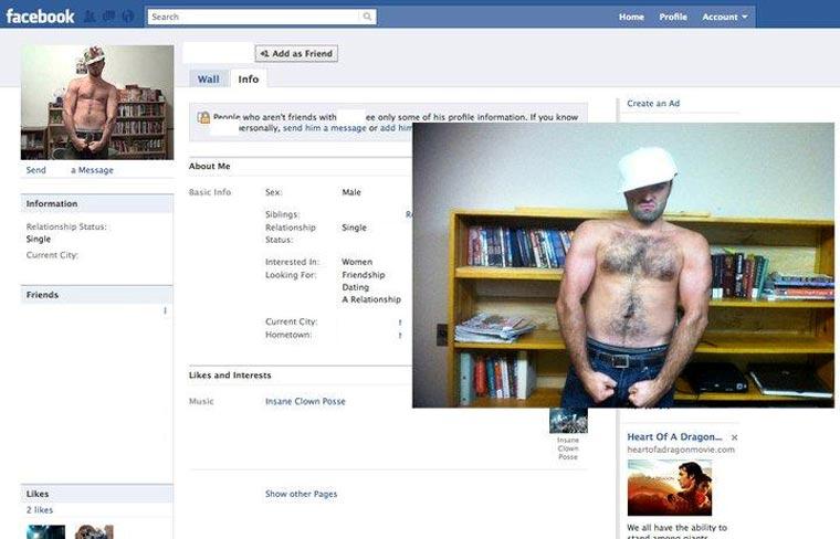 Typ stellt Facebook-Profilbilder Gleichnamiger nach und stellt ihnen Freundschaftsanfragen CasinoRoy_08