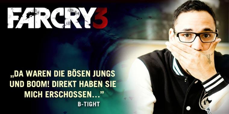 Gewinnt ein Exemplar von FarCry3!