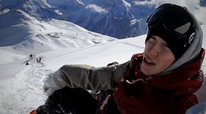 Snowboardfilm Levity komplett online Levity