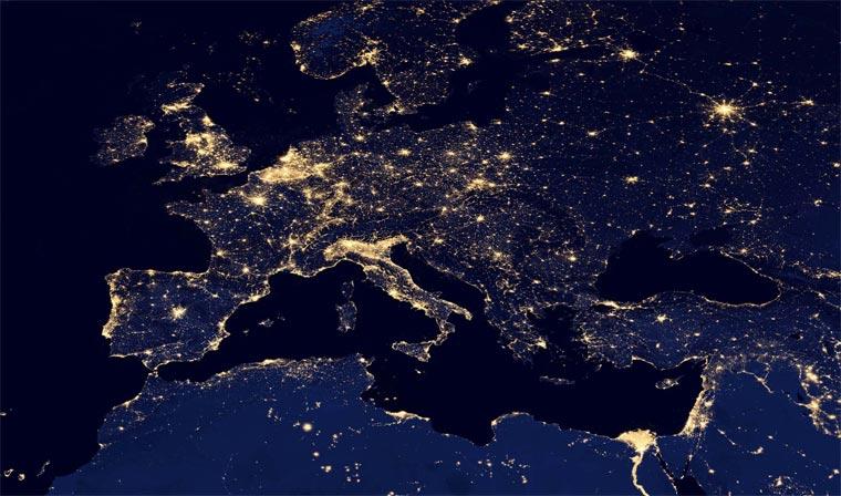 NASA: superdetaillierte Nachtbilder der Erde NASA_black_marble_03