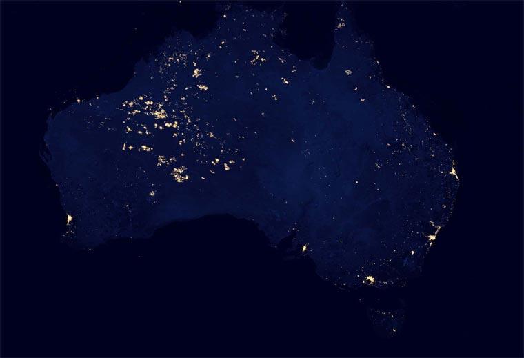 NASA: superdetaillierte Nachtbilder der Erde NASA_black_marble_05