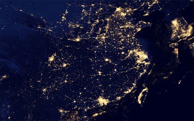 NASA: superdetaillierte Nachtbilder der Erde NASA_black_marble_06
