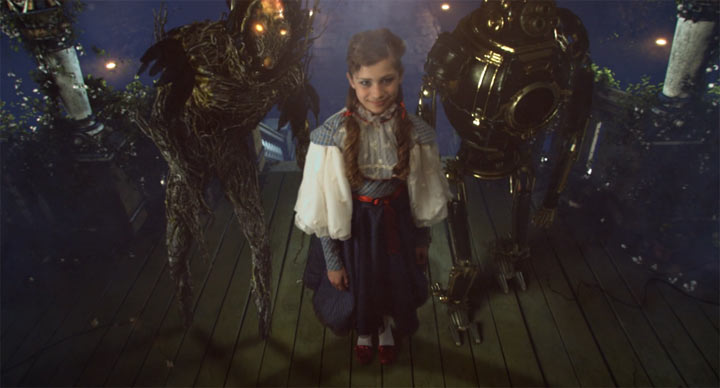 Halloween-Kurzfilm: der magische grüne Kürbis