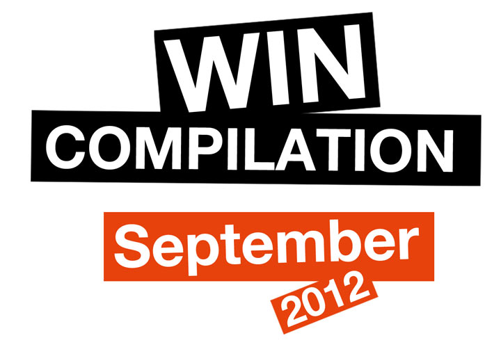WIN-Compilation: September 2012