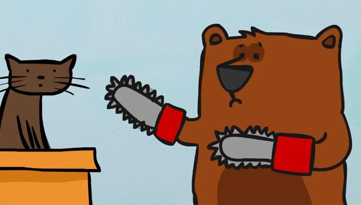 5 Reasons why Chainsaw Bear is secretly sad chainsaw_bear
