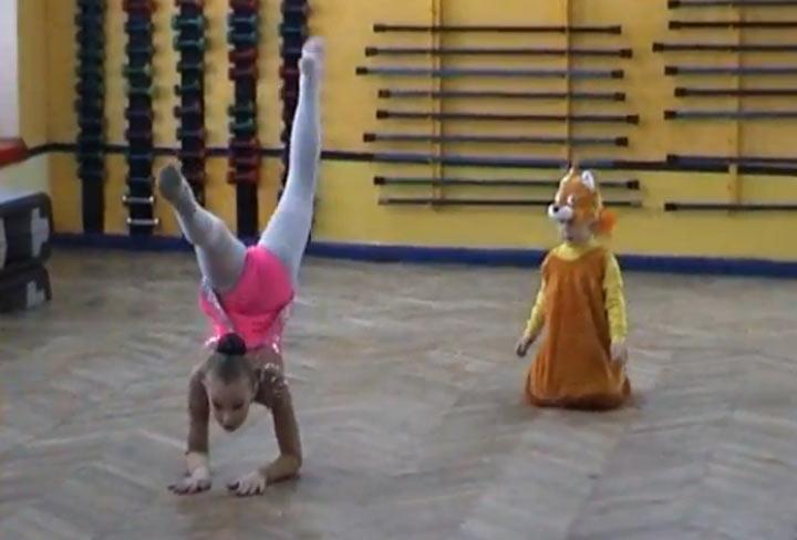 Die kleine Ballerina-Trollin chanterelle