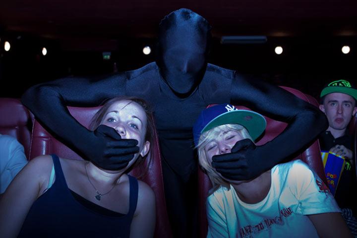 Kino-Ninjas sorgen für Ruhe im Saal