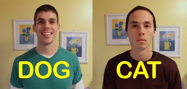 Wenn Menschen wie Haustiere wären dogfriend_catfriend