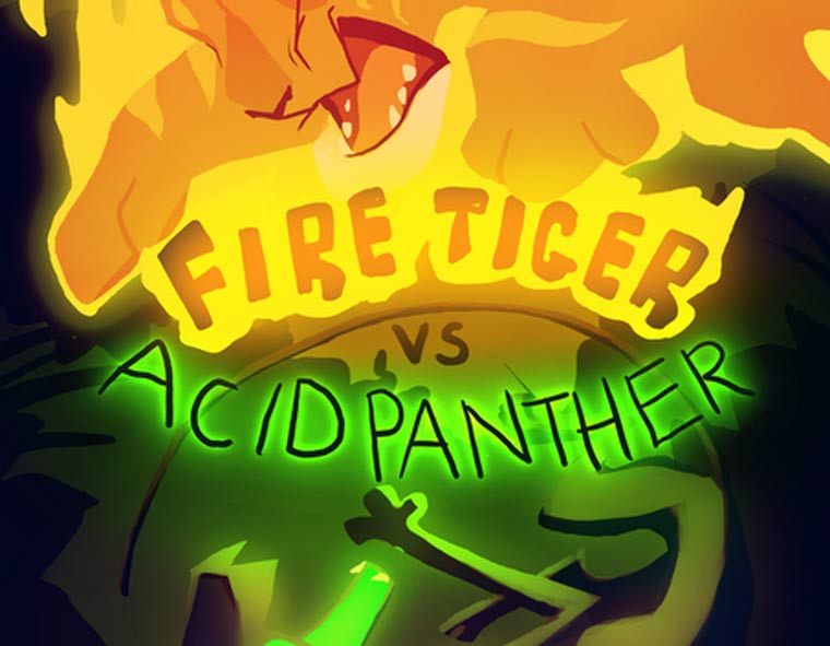 Fire Tiger vs Acid Panther