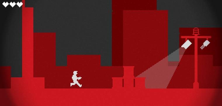 Jump'n'Run-Game: Infiltrator infiltrator