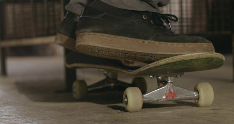 Skateboarding von ganz nah: Macro