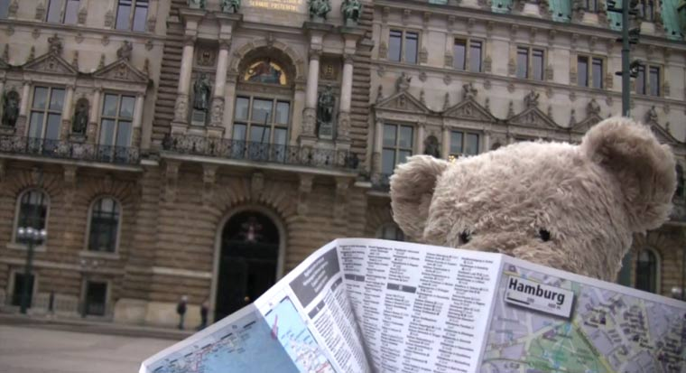 Misery Bear Goes To Germany misery_bear_hamburg