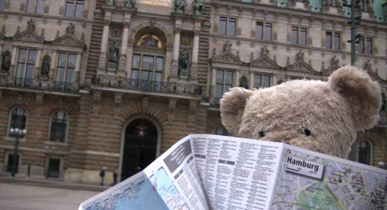 Misery Bear Goes To Germany