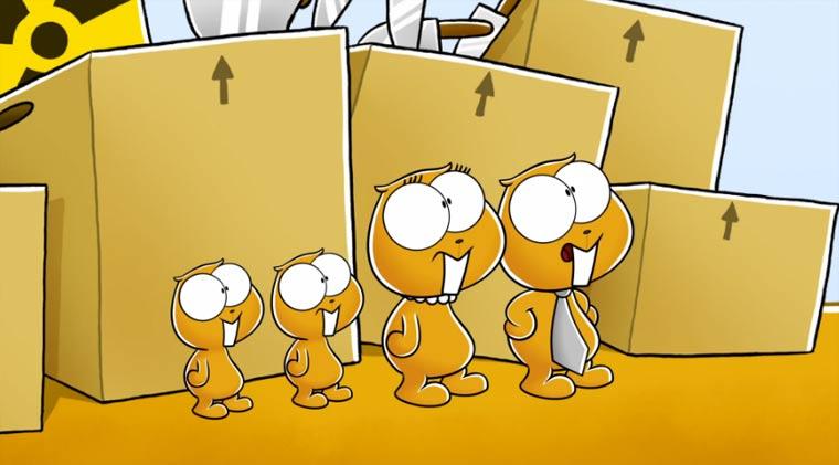 NICHTLUSTIG: Zeichentrickfolge + Crowdfunding-Aufruf