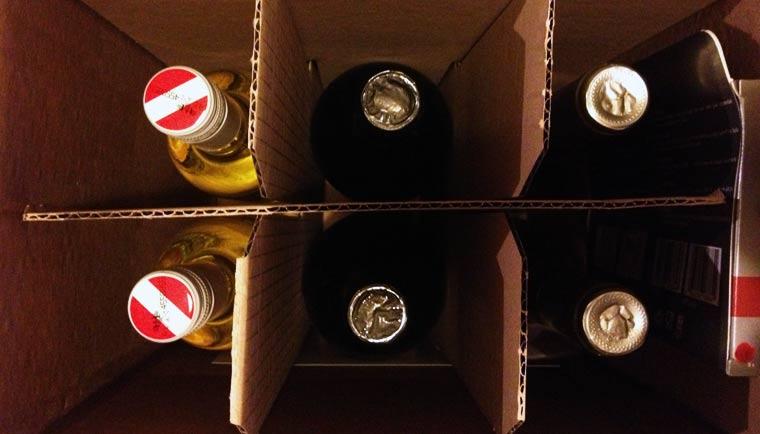 Test & verlosung: Wein-Shop ninetyninebottles