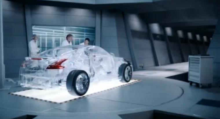 Das durchsichtige Auto plexiglas_auto
