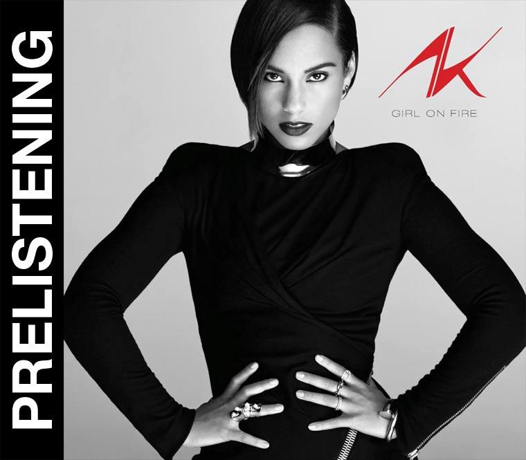 Prelistening: Alicia Keys - Girl On Fire