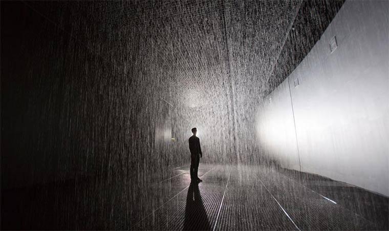 The Rain Room