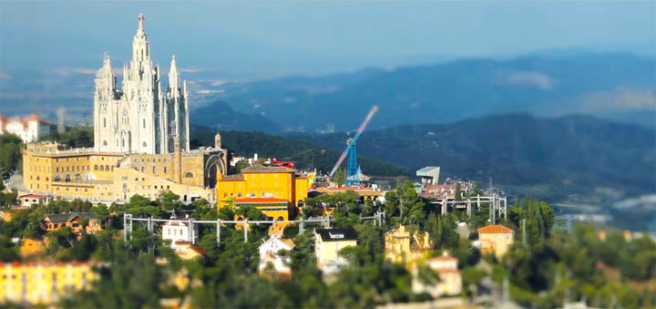 Tilt-Shift: Summer Barcelona
