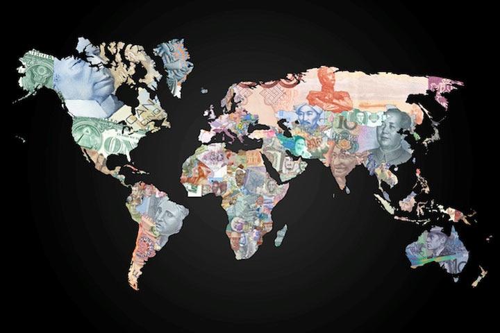 Weltkarten aus Währungen waehrungsweltkarte_05