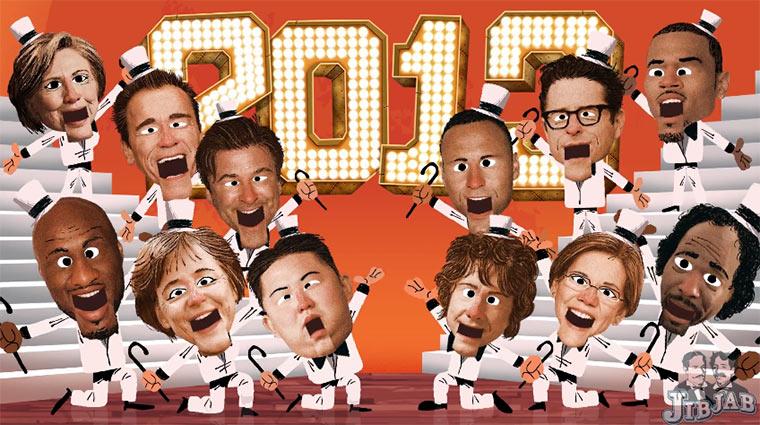 JibJab Jahresrückblick 2013