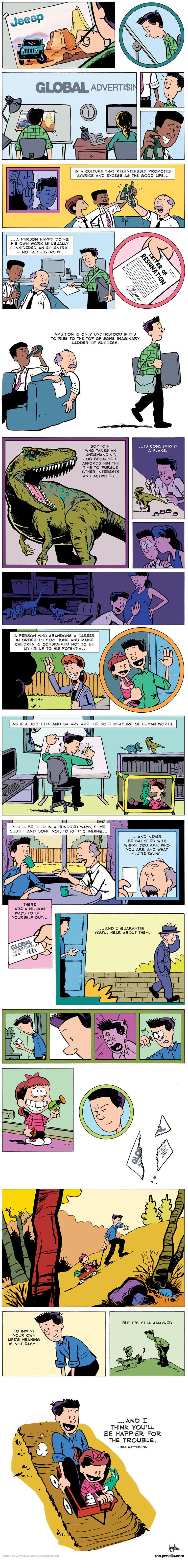 Comic: Erfüllung im Leben finden Bill_Watterson_02