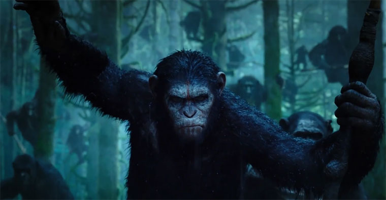 Trailer: Dawn of the Planet of the Apes Dawnoftheplanetoftheapes