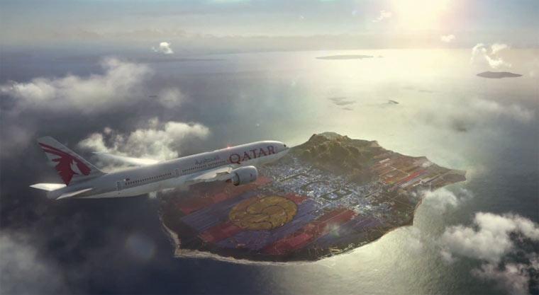 FC Barcelona hat eine eigene Insel FC-Barcelona-Island