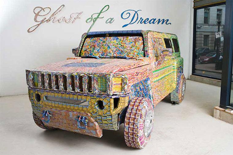 Luxusgegenstände aus Lottoscheinen Ghost_of_a_dream_01