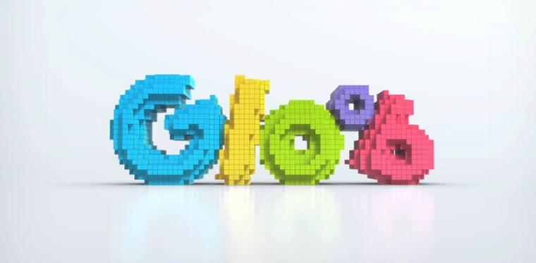 Gloob: animiertes Logo Design Gloob