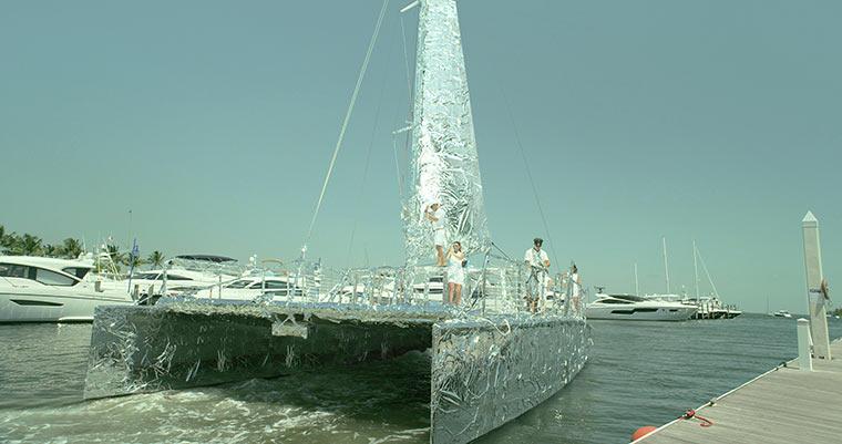 Humongous Tinfoil Catamaran HTCatamaran