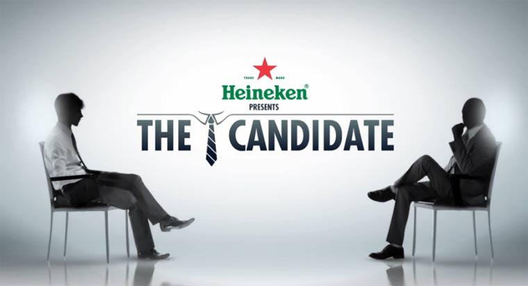 Kreativ: wie Heineken nach einem Praktikanten sucht