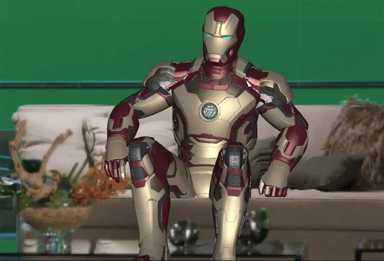 Special Effects aus Iron Man 3, The Avengers & Co. IronMan3_SFX