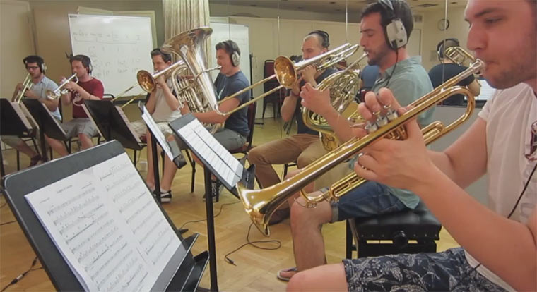 Blechbläser covern Muse' Knights Of Cydonia Knights_of_Cydonia_Brass-cover