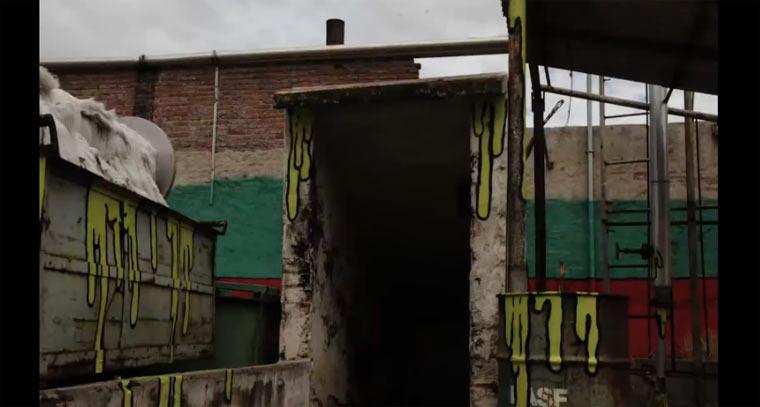 Street Art-Stopmotion: La Fabrica