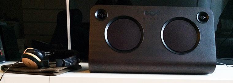 Test & Verlosung: Bluetooth Lautsprecheranlage von MARLEY Marley-Test_02