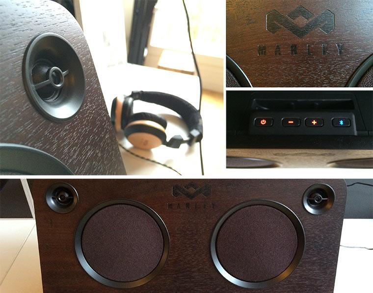 Test & Verlosung: Bluetooth Lautsprecheranlage von MARLEY Marley-Test_06
