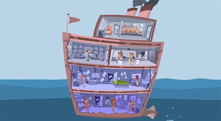 Wenn Animationskunst eine Schifffahrt wäre OVERBOARD