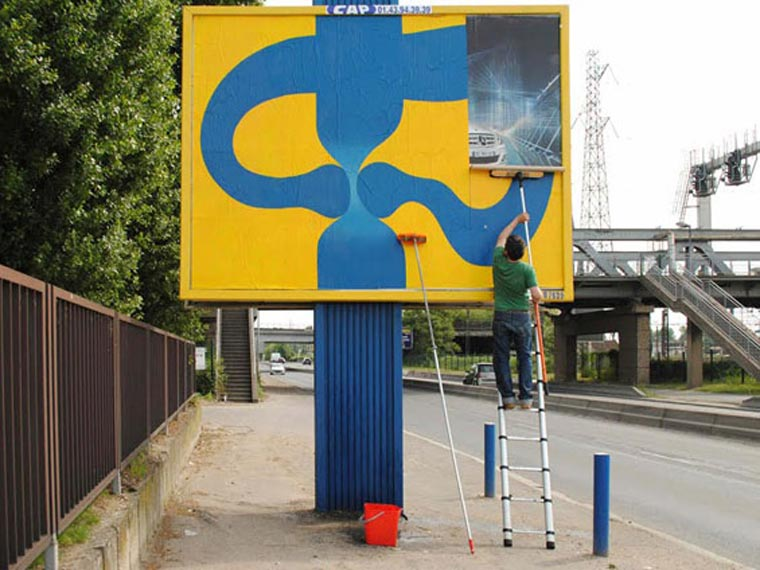 Plakat-Spaß mit OX OXs_billboard_fun_02