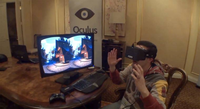 Virtual Reality: Oculus Rift Demo