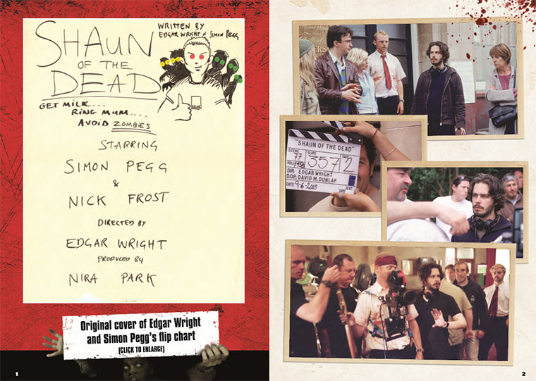 interaktives Shaun of the Dead-Drehbuch Shaunofthedeadscript