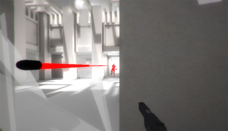 SUPERHOT: Shooter mit kleinem Kniff Super-HOT