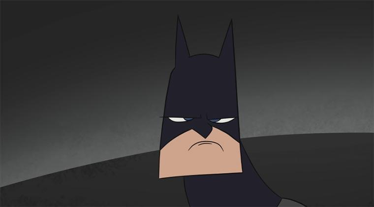 Batman hat auch schlechte Tage