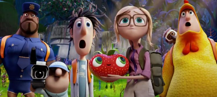 Cloudy with a Chance of Meatballs 2 - Trailer #2 cloudy2-trailer2