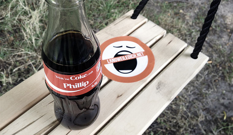 Sei verrückt - Schaukeln gegen Langeweile! coke_swing_04