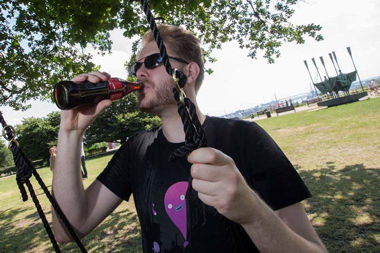 Sei verrückt - Schaukeln gegen Langeweile! coke_swing_11