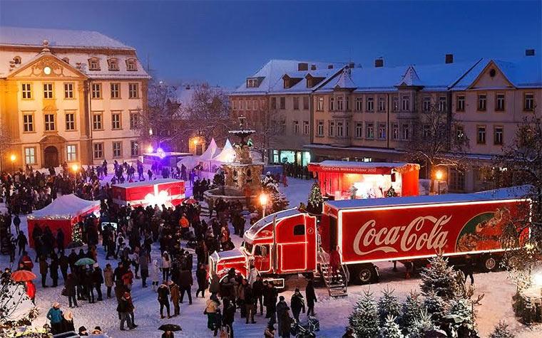 Coca-Cola Weihnachtstrucktour 2013 coketrucktour